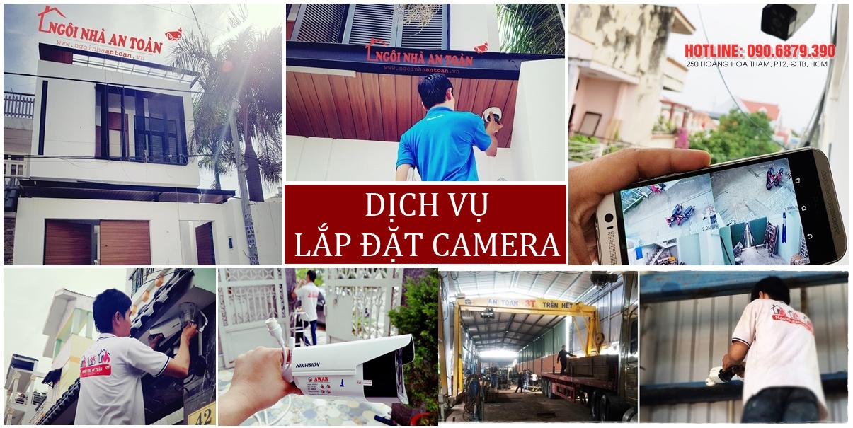 Lắp đặt camera quan sát giá rẻ cho khách hàng ở HCM và khu vực phía nam